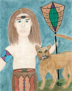 The Cougar Warrior Within