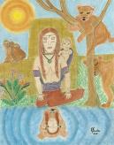 The Mother Goddess Warrior